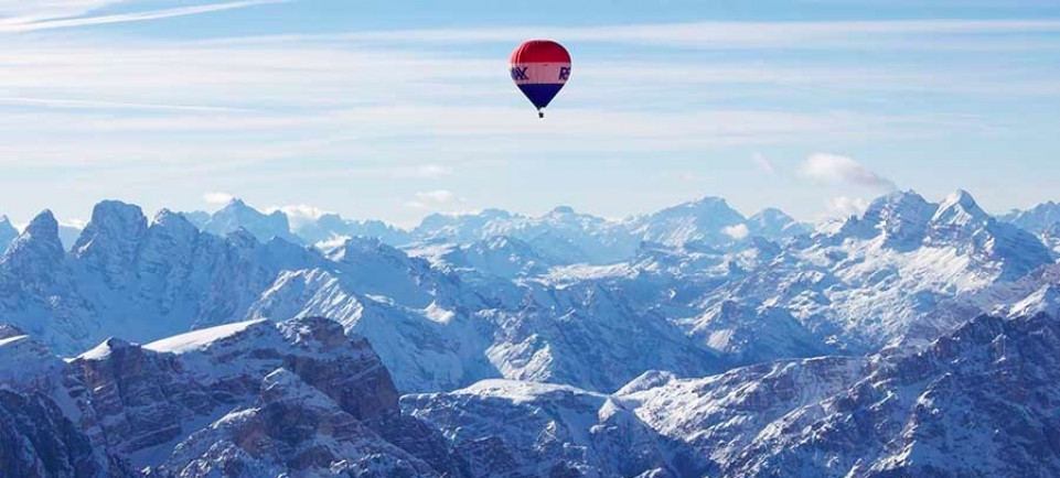 Balloon Rides above the Dolomites